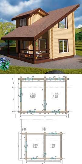 строительство деревянных домов от «Современные Деревянные Дома»