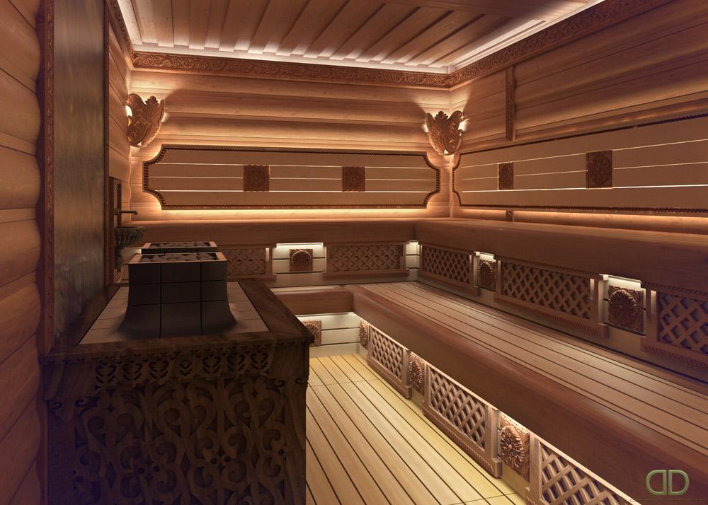 деревянные бани от sddu.com.ua/ru