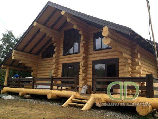 дом со сруба от «Современные Деревянные Дома»
