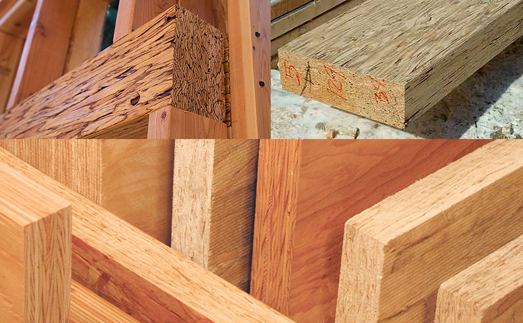 Глюлам - SCL - (Structural Composite Lumber)