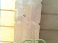 углы каркасно-щитового дома из элементов клееного бруса