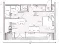 план-схема с мебелью
