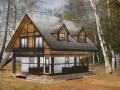 Каркасно-щитовой дом - фахверк эскиз