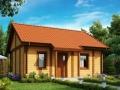 Эскизный проект каркасно-щитового дома