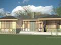 Проект каркасно-щитового дома - эскиз 1