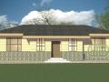 Проект каркасно-щитового дома - эскиз 2