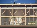 Каркасно-щитовой дом  эскиз 2