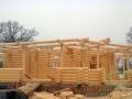 деревянный дом восьмигранной формы