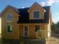 Каркасный домик - покраска