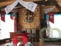Интерьер бревенчатого дома в украинском народном стиле